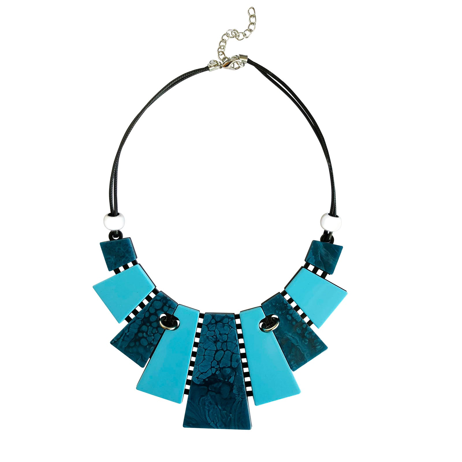 Bindi Necklace - Blue