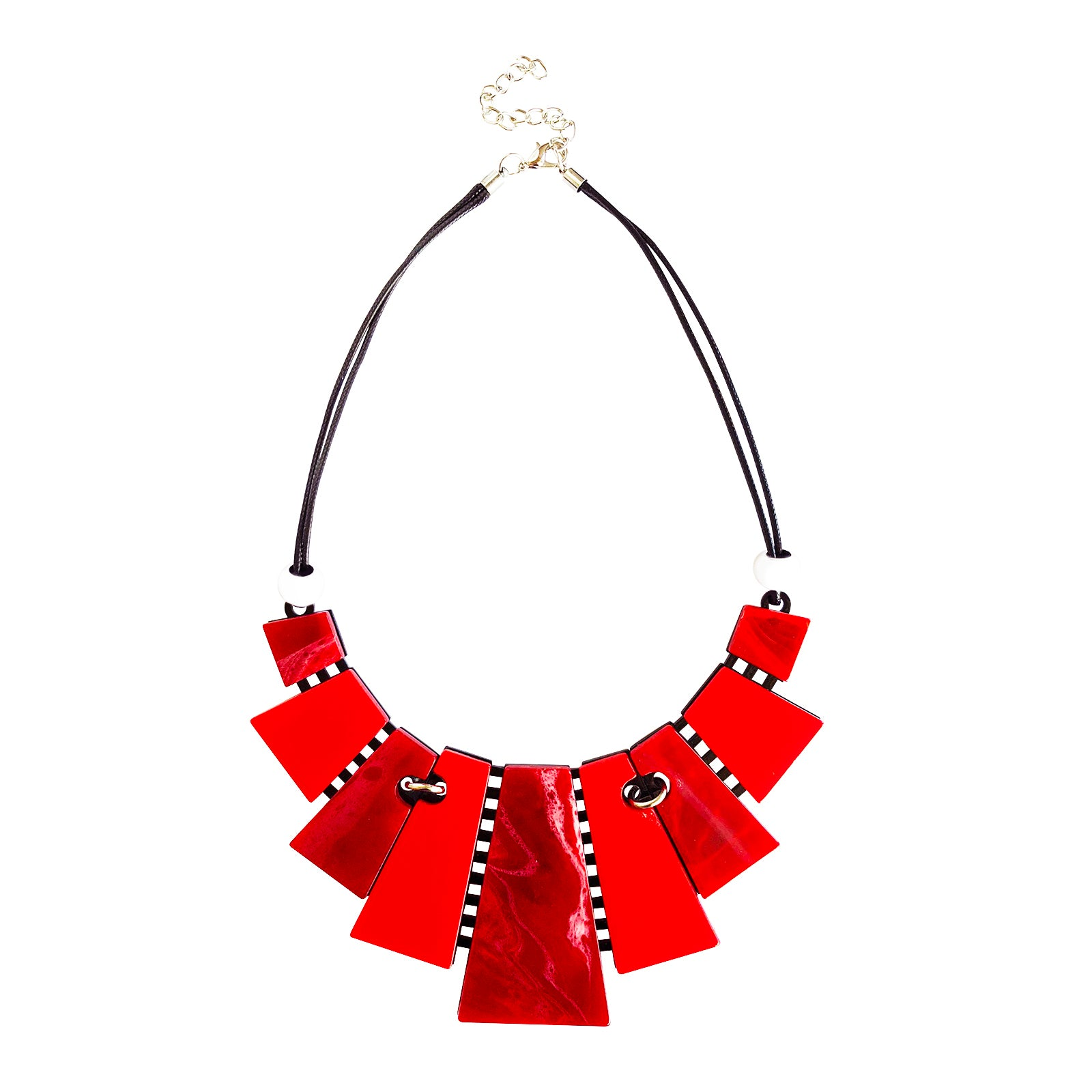 Bindi Necklace - Red