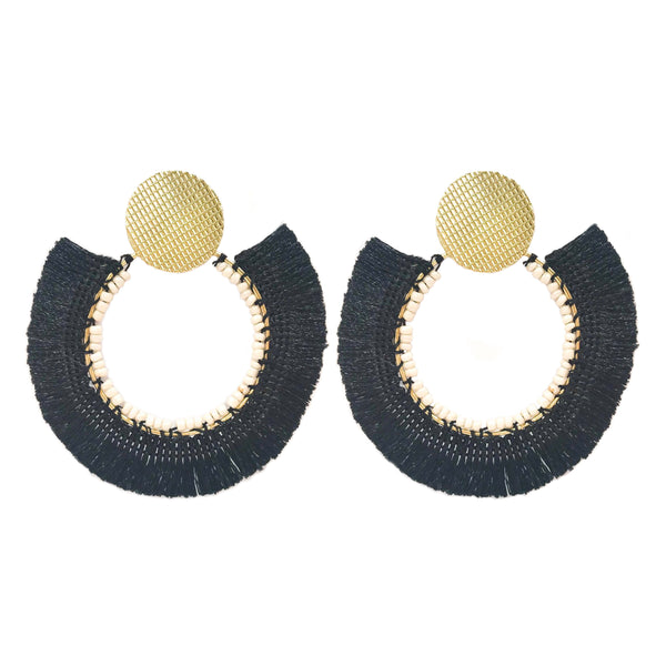 Jessica Earrings black