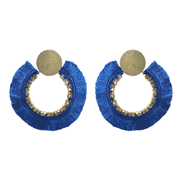 Jessica Earrings blue