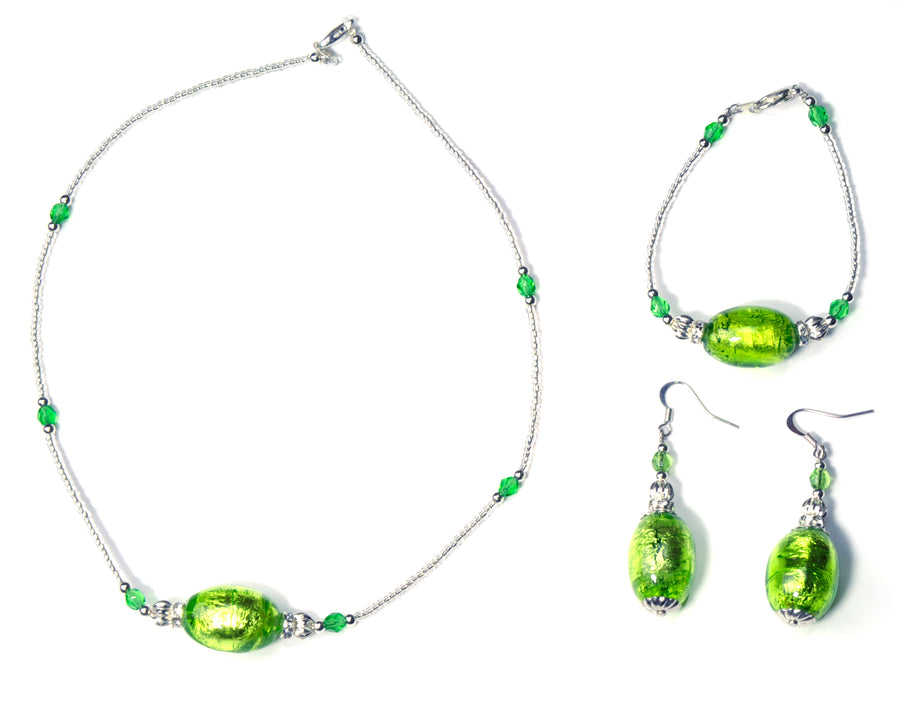 Loly Murano Glass Jewelry Set