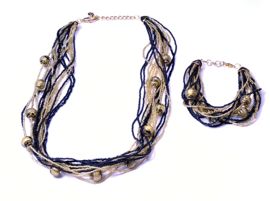 Jessica Murano Glass Jewelry Set