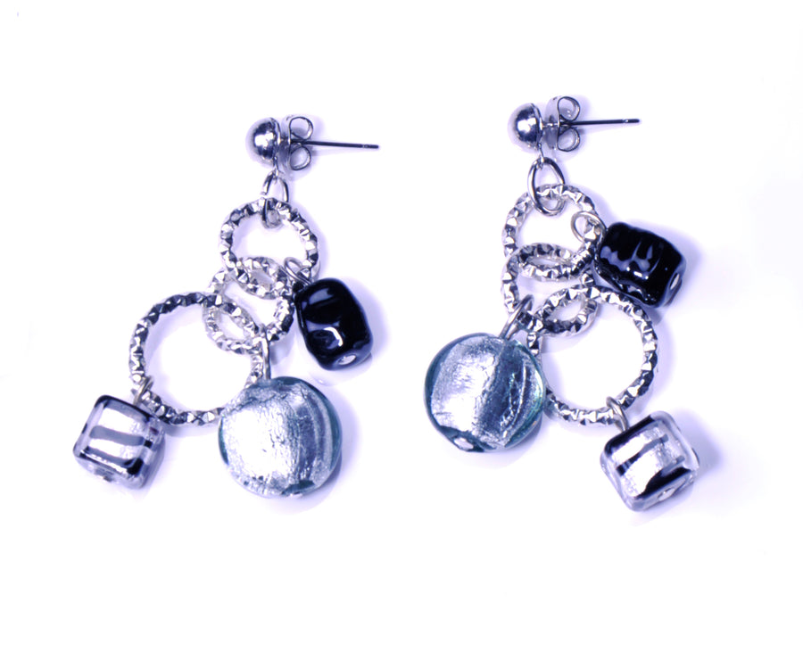 Charms Murano Glass Earrings