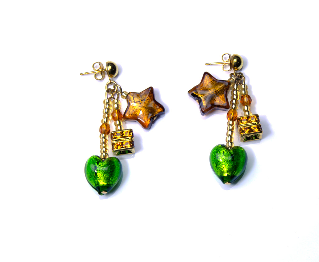Caravella Murano Glass Earrings