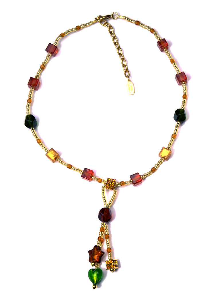 Caravella Murano Glass Necklace, 50 cm/20""