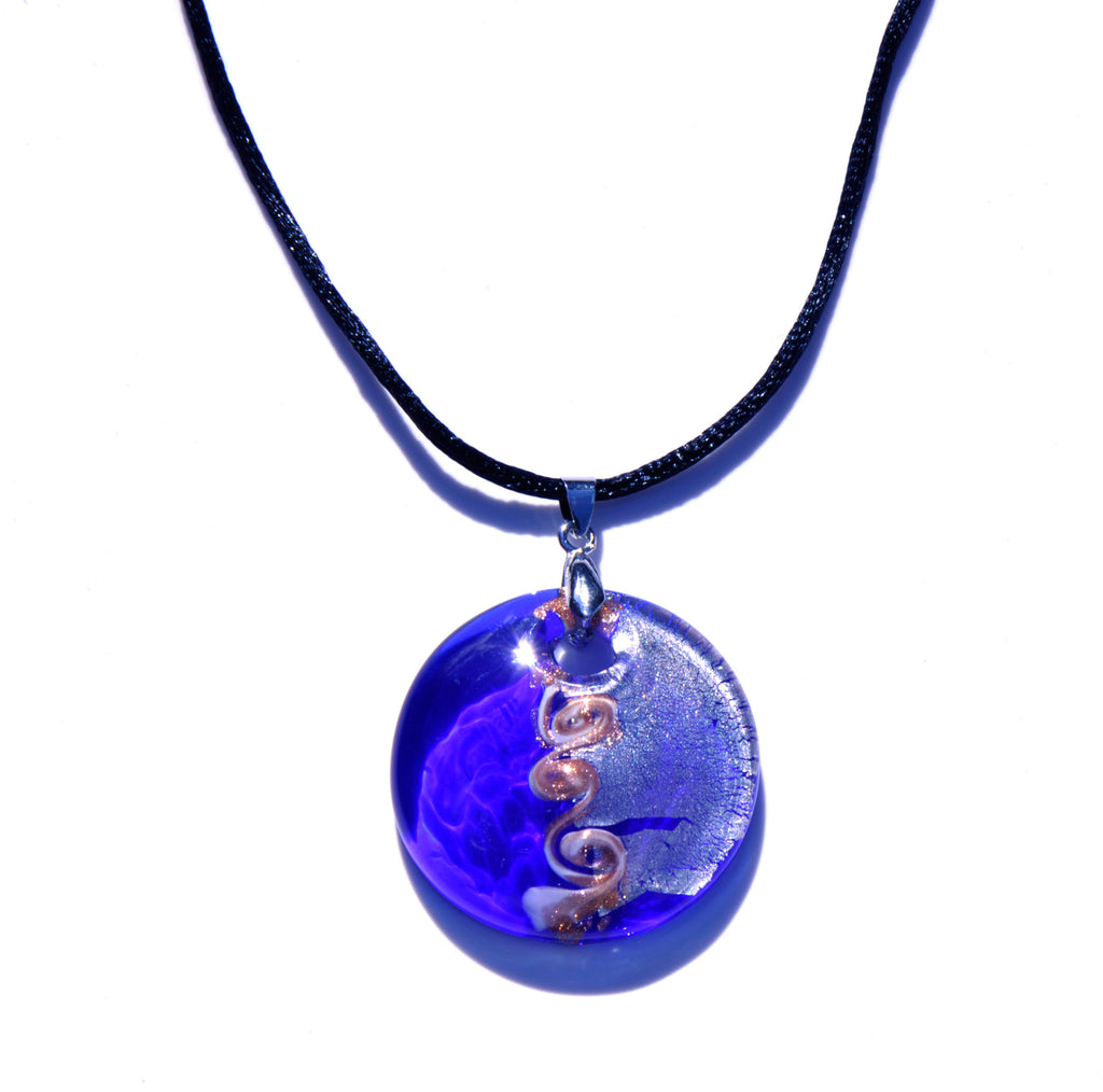 NECKLACES MURANO GLASS - AZURE