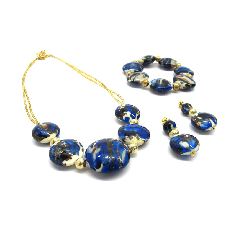 Vittorio Murano Glass Jewelry Set