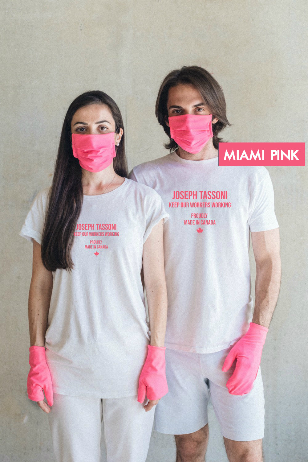 MIAMI COLLECTION - Reusable Face Covering + Hand Covering - 1 set