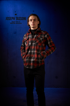 Men's Tartan Shirt Jacket