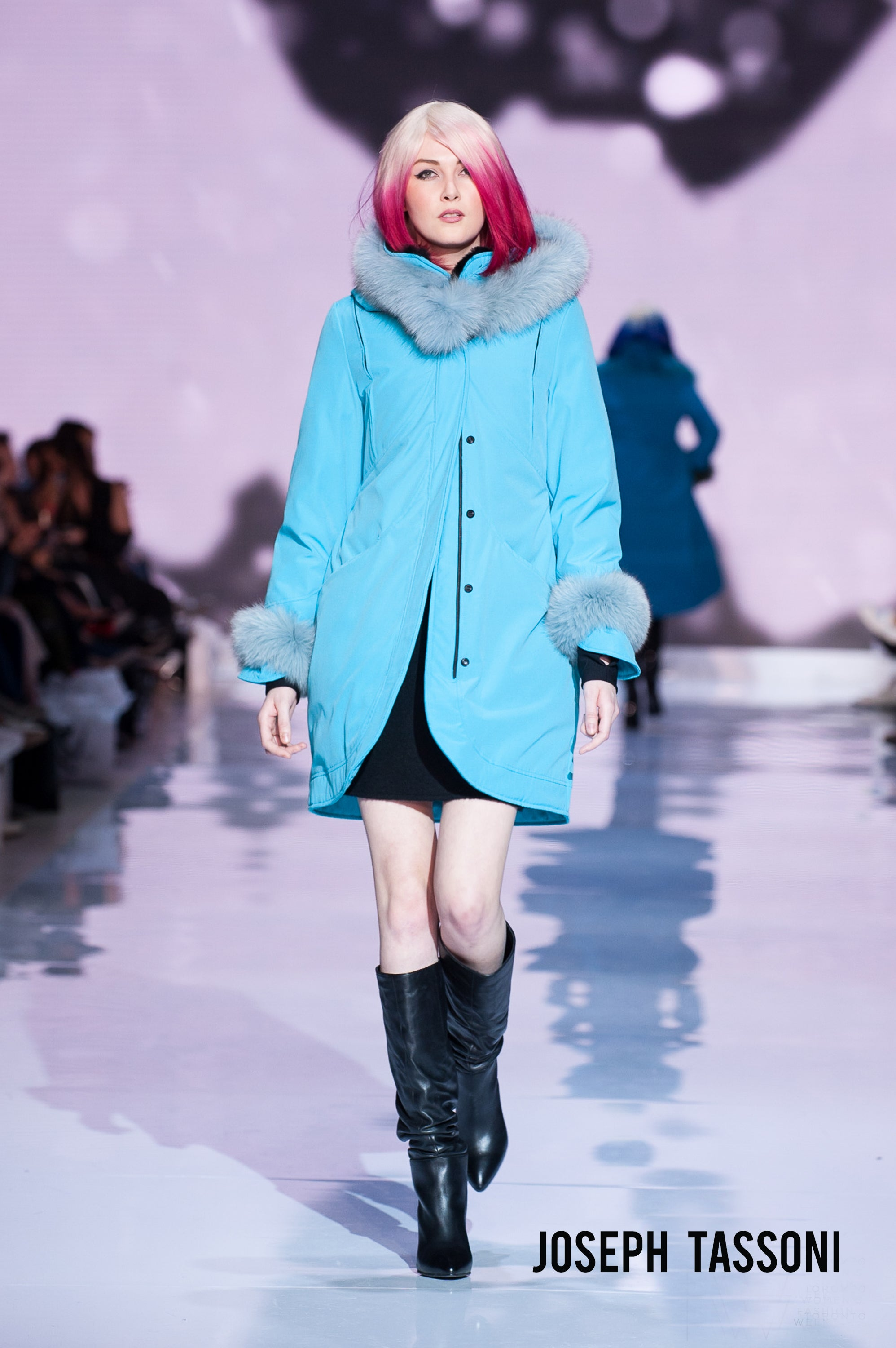 Mid - ¾ Tulip Parka with Dyed to Match Fur