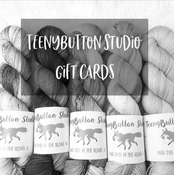 TeenyButton Studio Gift Cards