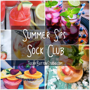 Summer Sips Sock Club - ALL THREE MONTHS