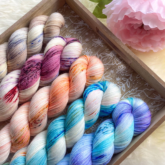 PREORDER Bridgerton Mini Skein Set - 4 WEEK TURNAROUND