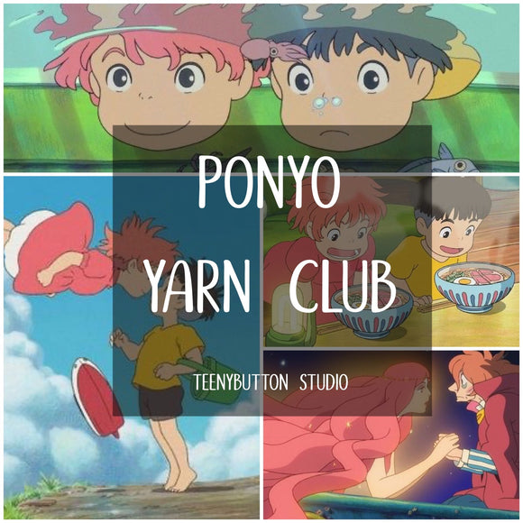 June 2021 - Ponyo Yarn Club - SHIPS MID-JUNE