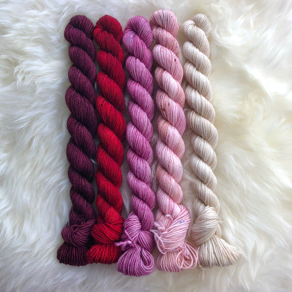 Valentine's Day Mini Skein Set