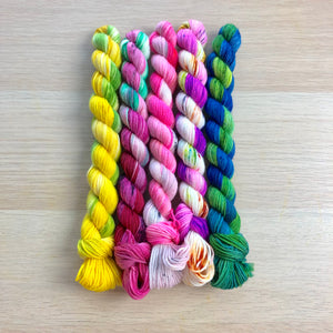 Pool Party Mini Skein Set