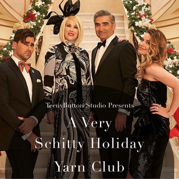 December 2020 - A Very Schitty Holiday Yarn Club