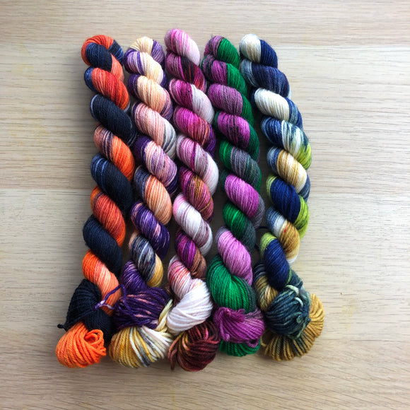 Hocus Pocus Mini Skein Set
