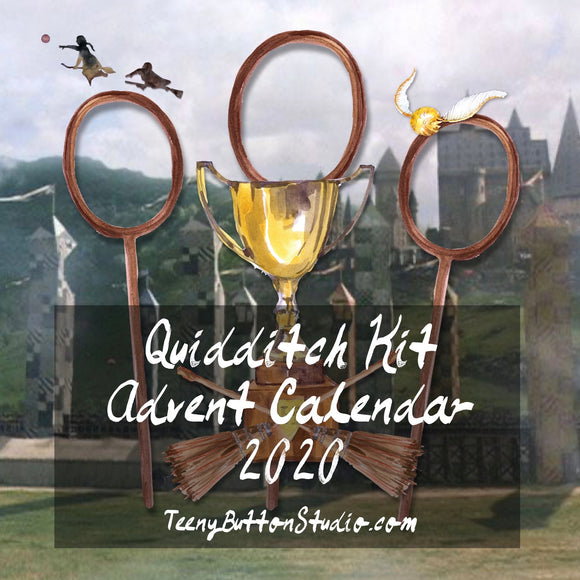 PREORDER - Quidditch Kit Advent Calendar 2020