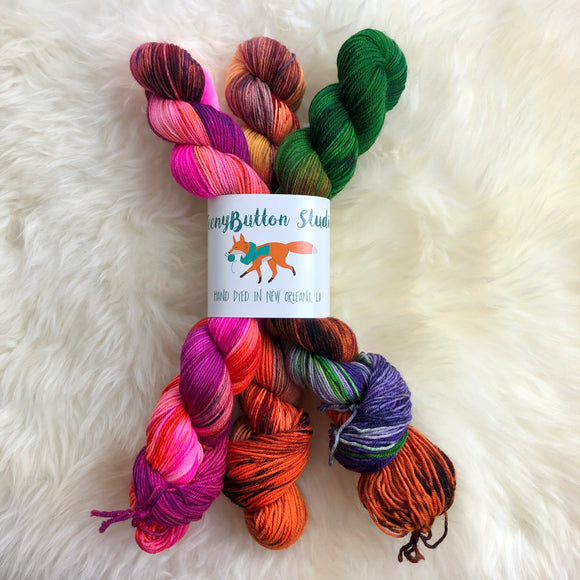 Sanderson Sisters - Three 50G Skeins