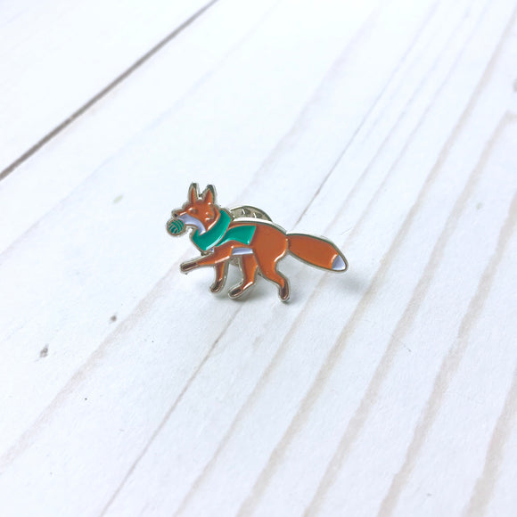 Enamel Pin - TeenyButton Studio Fox