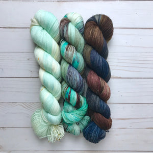 Impressionists MKAL Shawl Kit - Dyed To Order