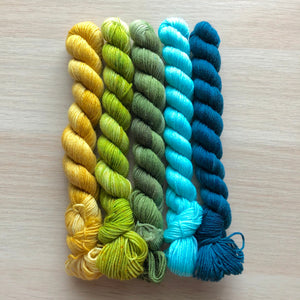Sea And Sky Mini Skein Set