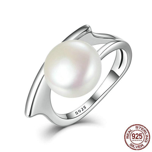 Sterling Silver with Fresh Water Cultured Pearl Ring