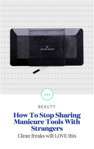 Elle: How to stop sharing Manicure Tools with Strangers Title