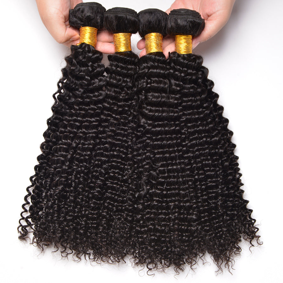 Oxeye Girl Afro Kinky Curly Hair Bundles Malaysian Human Hair Weave