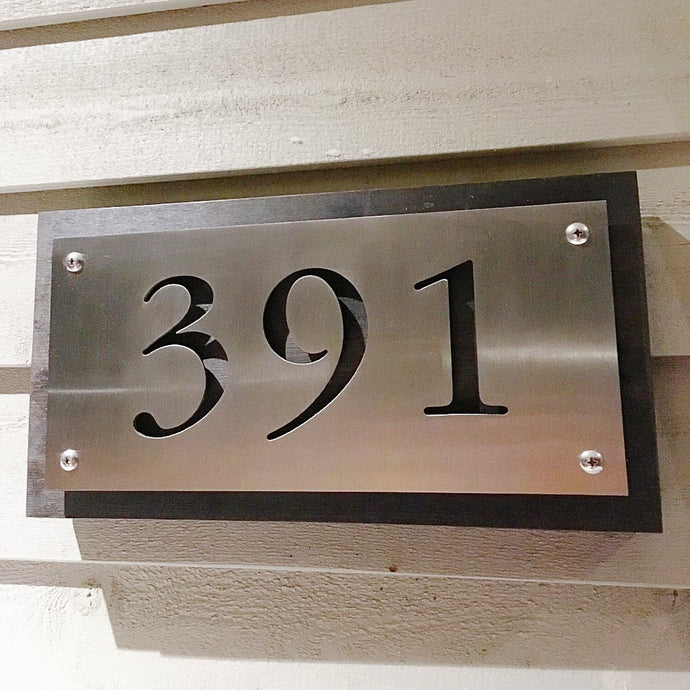 Address-Plate-7X14-Mecky-Metal-recycled-wood