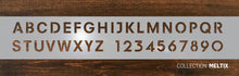 custom stainless address