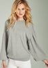 Alera Balloon Sleeve Sweatshirt
