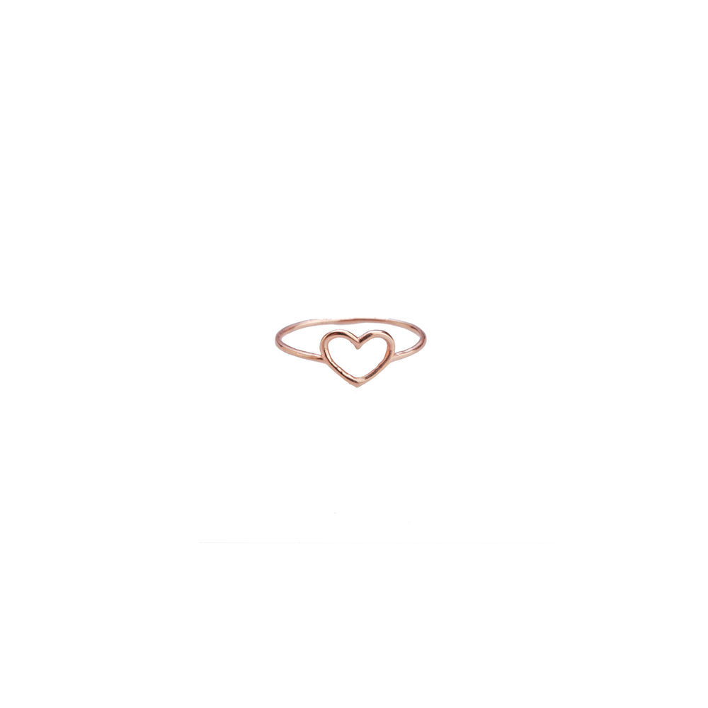 Minnos Heart Ring - Gold