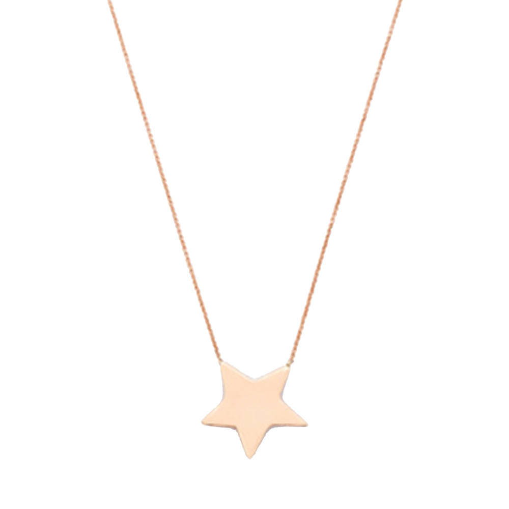 Medallion Medium Size Star Necklace