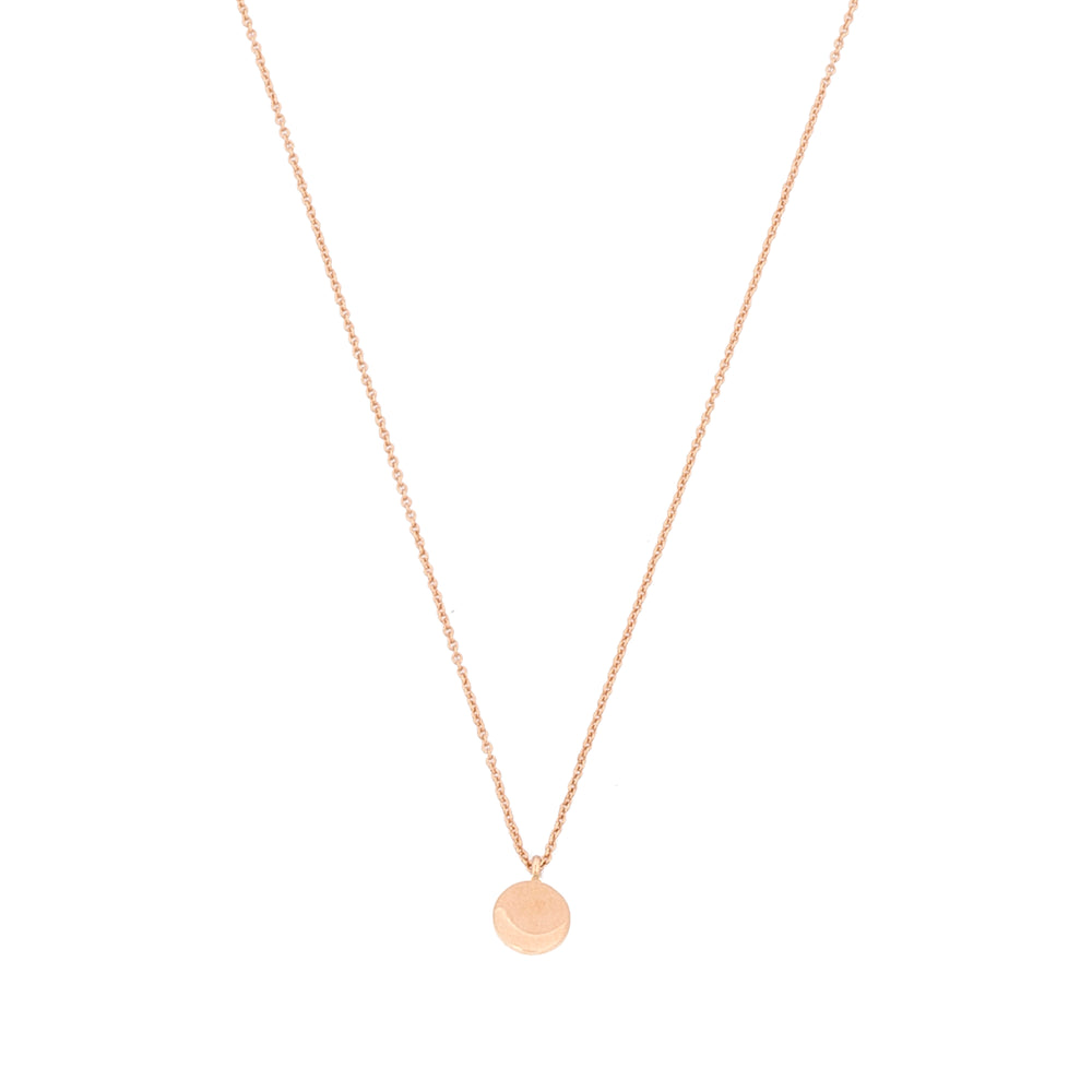 Bidik Disc Necklace - Gold
