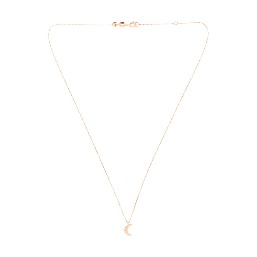 Bidik Moon Necklace - Gold