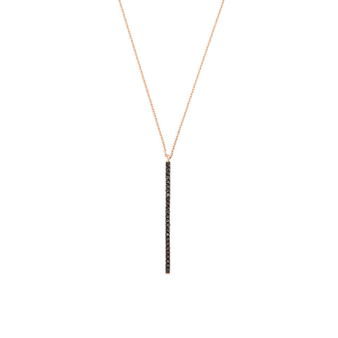 Lumiere Diamond Stick Necklace