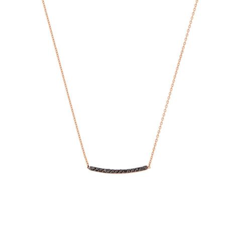 Lumiere Diamond Bar Necklace- Small