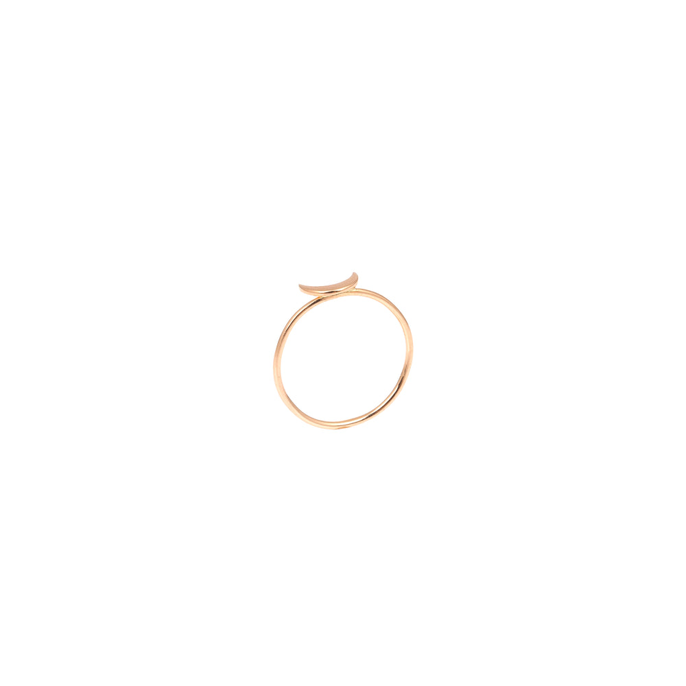 Bidik Moon Ring - Gold