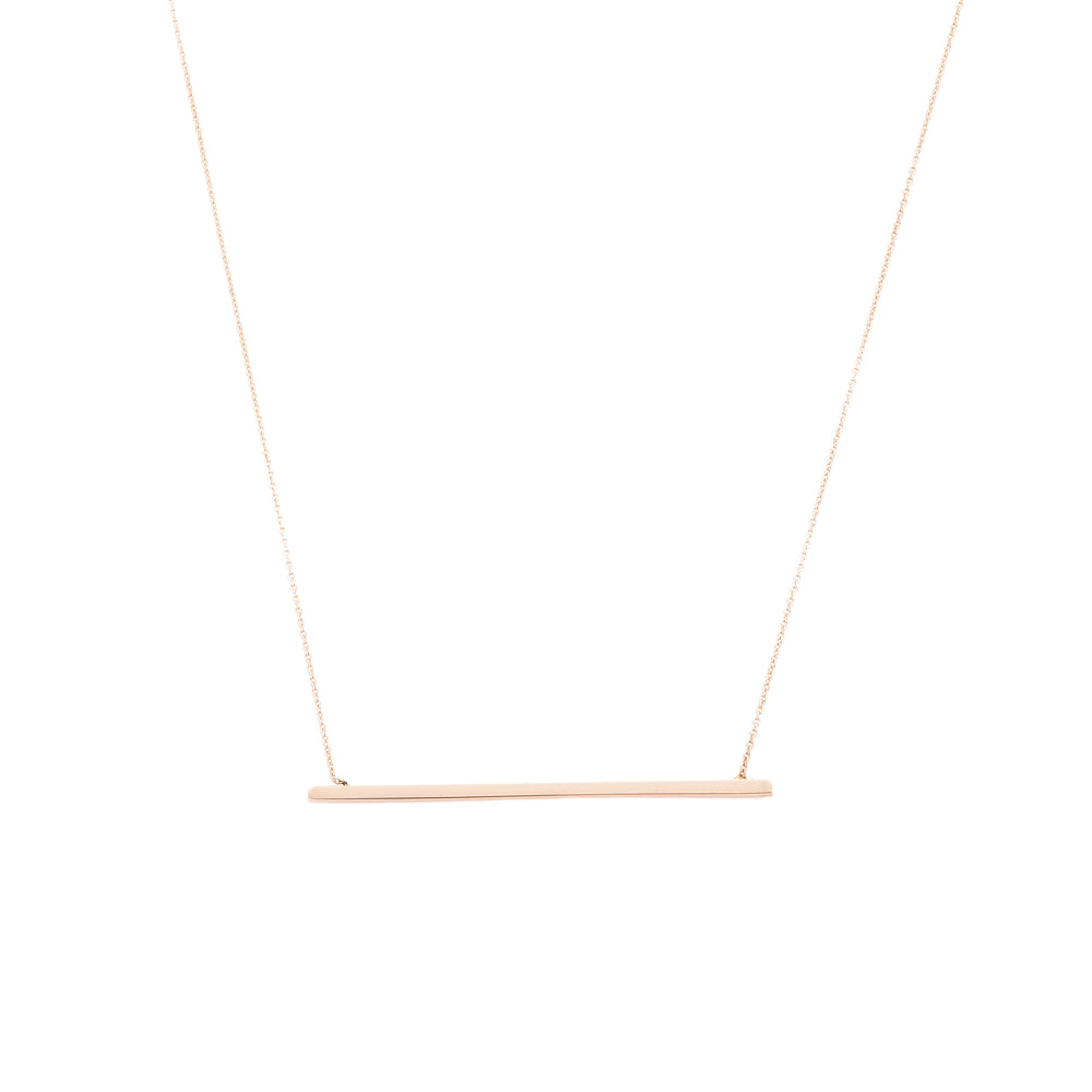 Geometry Horizontal Bar Necklace
