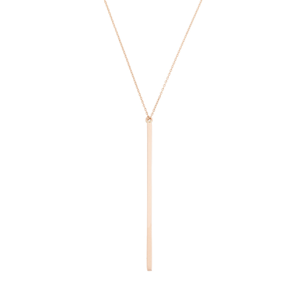 Geometry Vertical Bar Necklace