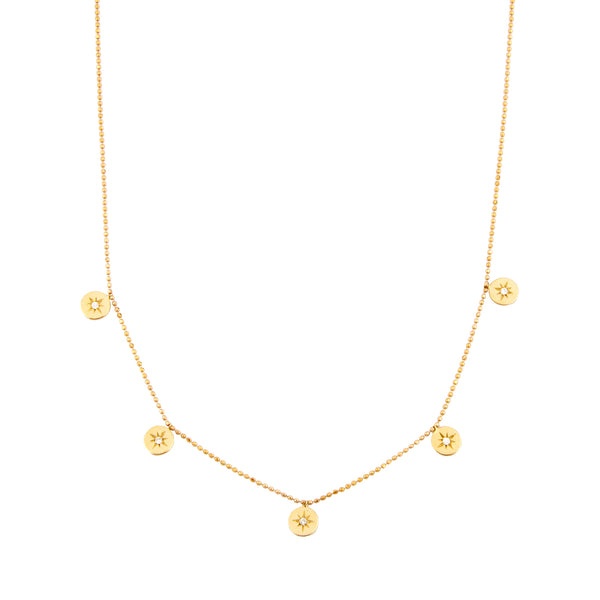 Heroine 5 Star Necklace