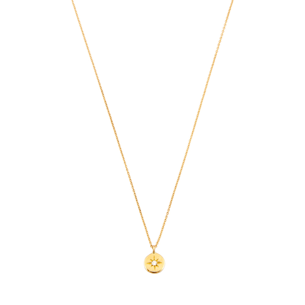 Heroine Circle Star Necklace