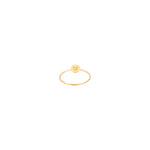 Heroine Circle Star Ring - White Diamond