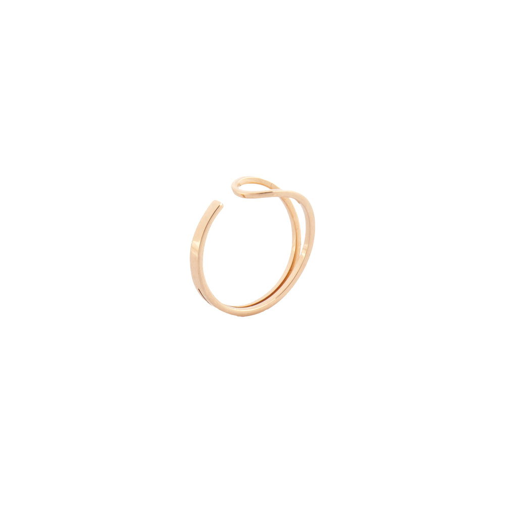 3 Rows Ring - Gold (1.55g)