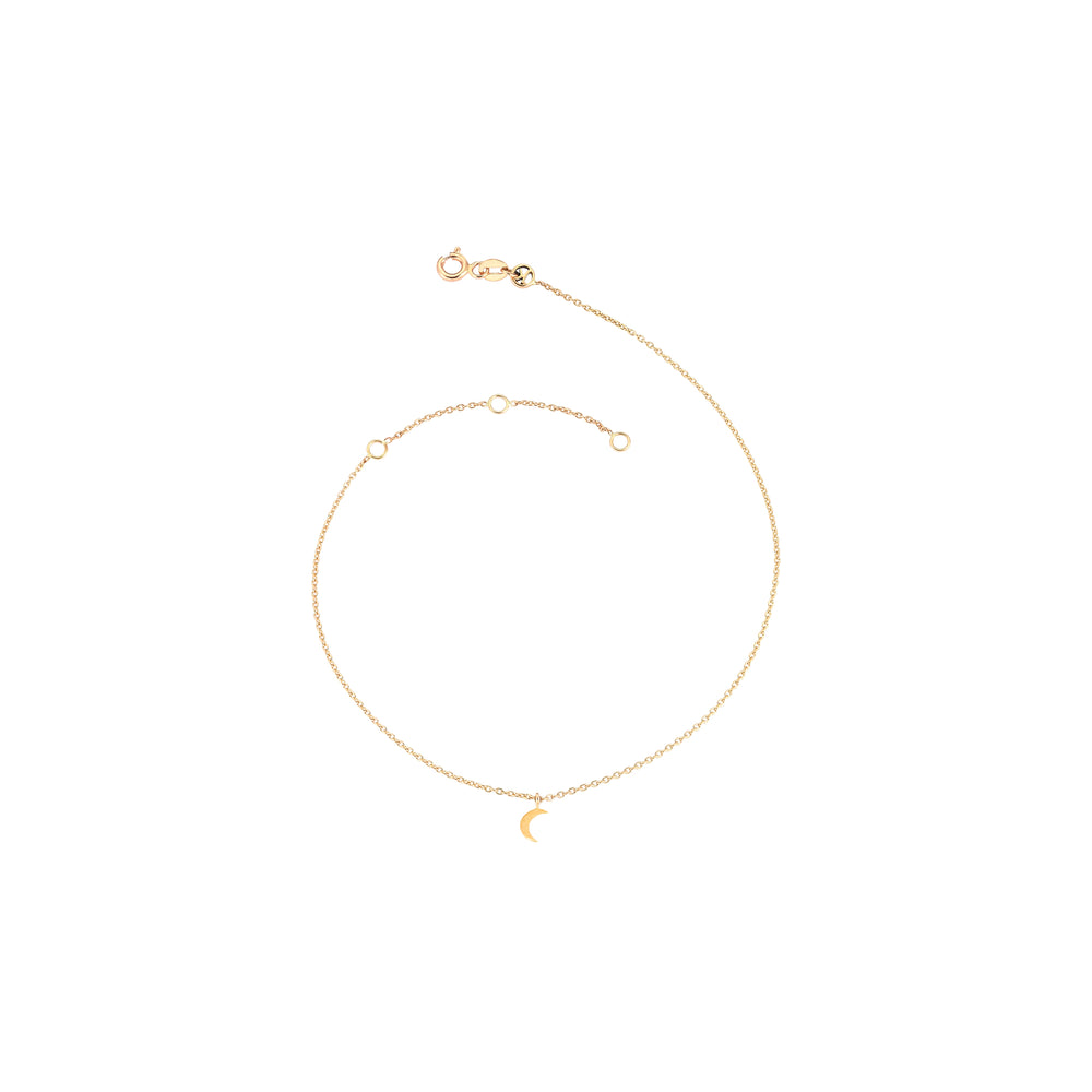 Mini Crescent Anklet