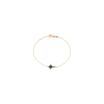 K Star Bracelet - Black Diamond