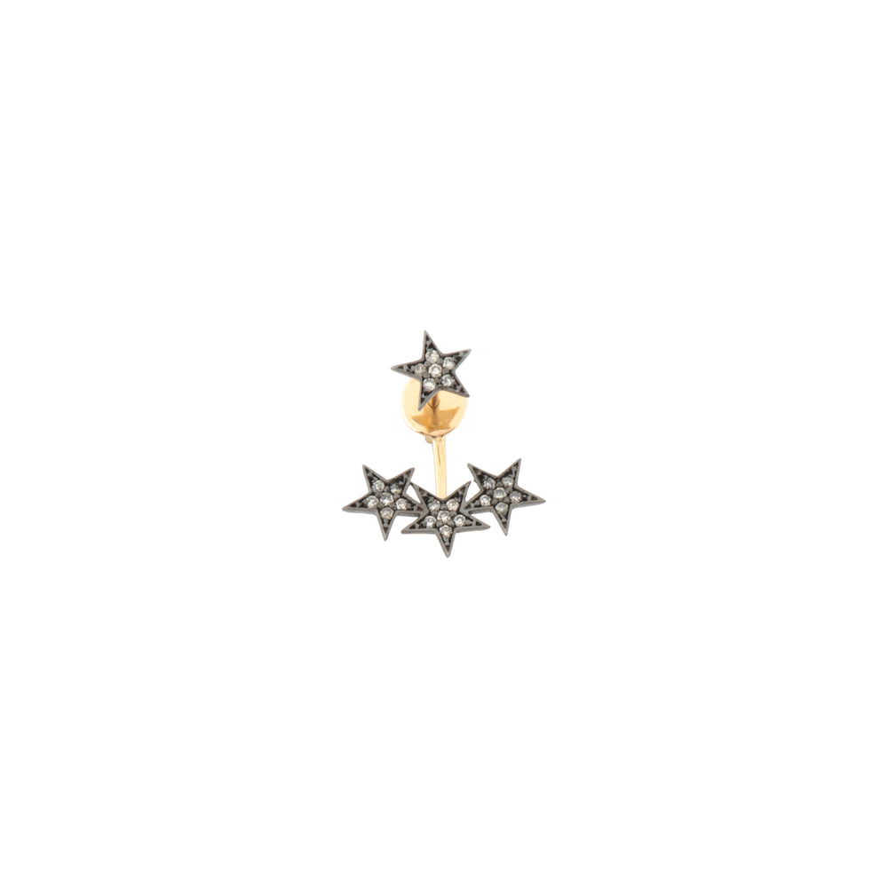 Wonder Woman 4 Star Earjacket (Single)