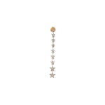 Long Star Earring (Single)